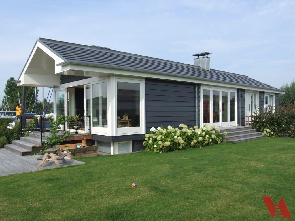 Huis bouwen woning bouwen nieuwbouw - Huis met veranda binnenkomst ...