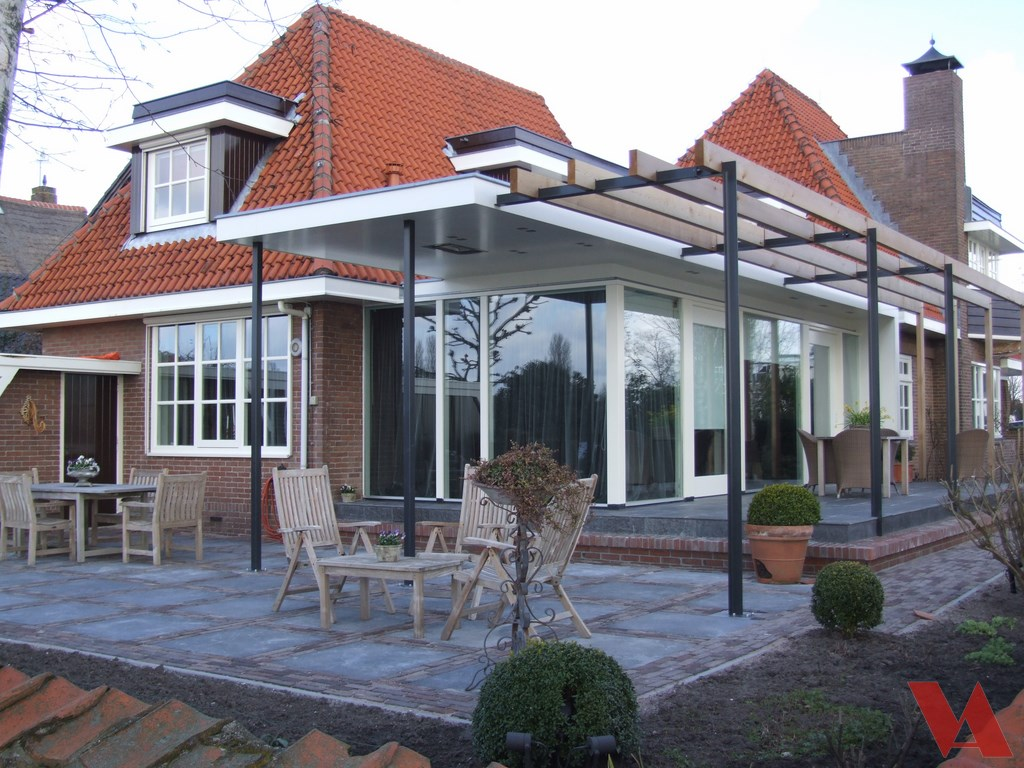 Aanbouw huis uitbouw woning verbouwen - Foto huis in l ...